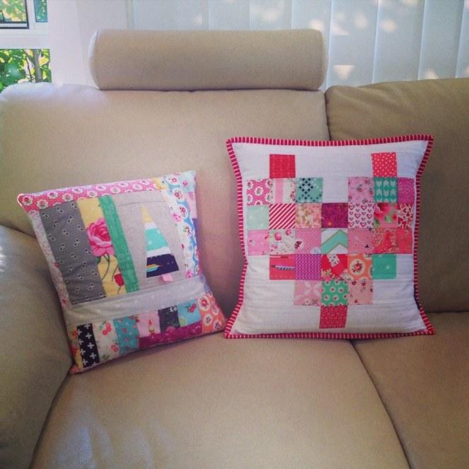 Scrap busting cushions