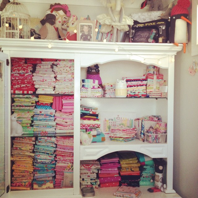 Japanese Fabric stash