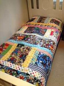 Marvel quilt