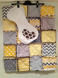 Newborn quilt set