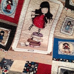 Gorjuss quilt